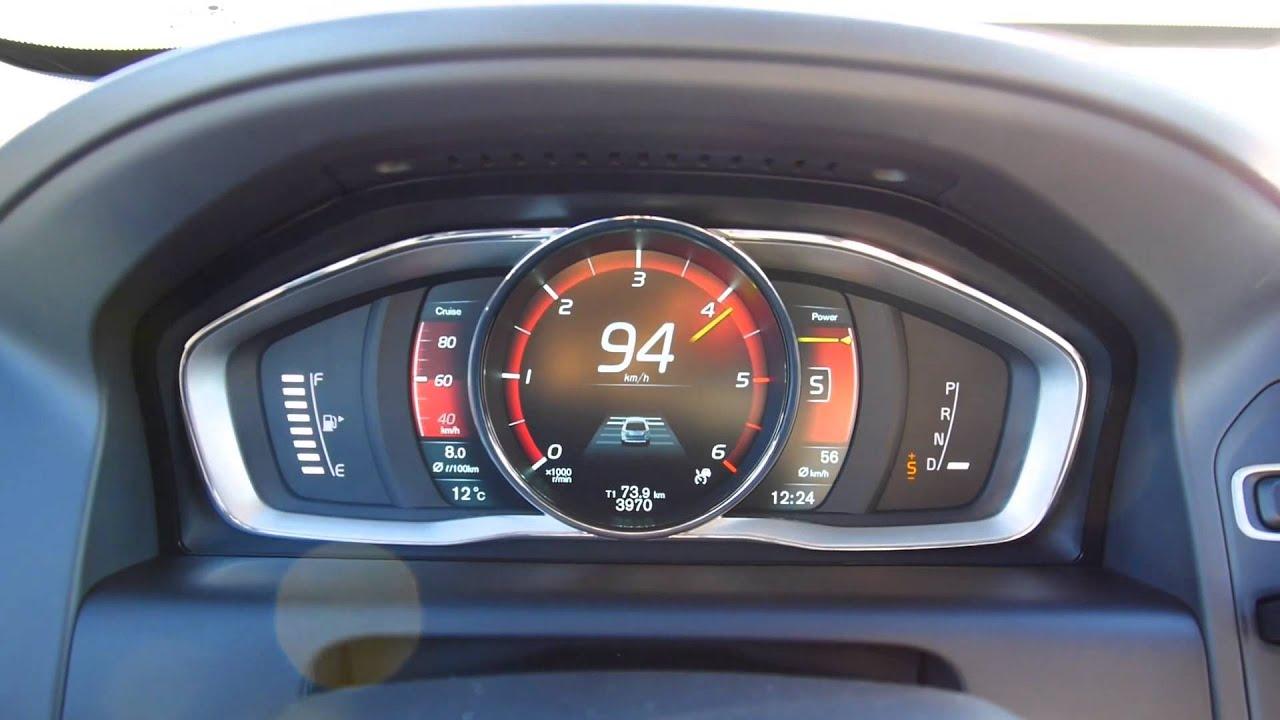 Volvo XC60 D4 Diesel Drive-E 181 hp acceleration 0 to 100 km/h - Autogefühl Autoblog - YouTube