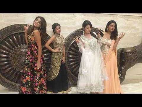 Yuvika Chaudhry, Jasmine Bhasin, Asmita Sood and Tina Dutta's photoshoot in Chennai from YouTube · Duration:  1 minutes 25 seconds
