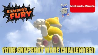 Super Mario 3D World + Bowser's Fury – Snapshot Mode Challenge!