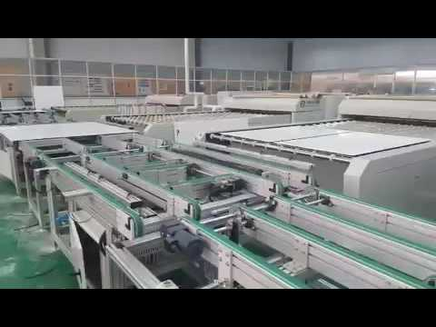 100MW Solar panel production line from Radiant