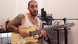How to play 'The Sin And The Sentence' by Trivium Guitar Solo Lesson w/tabs