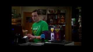 Sheldon talked to Spock- The Big Bang Theory