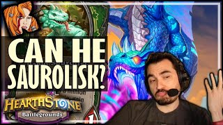 MALYGOS CAN SAURALISK TOO! - Hearthstone Battlegrounds