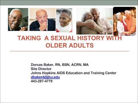 Taking a Sexual Assessment for Older Adults