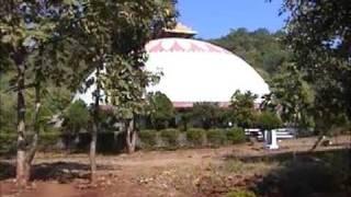 Pagoda of Buddha Hue en sang Dhamma camp centre   Bor Dam Visit by Dr.V.T.Ingole.mpg