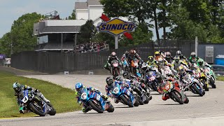 MotoAmerica Superbike/Stock 1000 Race 1 at Honda Superbike Showdown of Wisconsin - Road America 2016