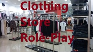 ASMR/Whisper: Clothing Store Role-Play