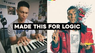 Making a beat inspired by Logic's Confessions of a Dangerous Mind