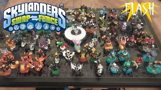 Meine Sammlung von Skylanders Swap Force
