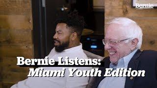 Bernie Listens: Millennial Roundtable in Miami