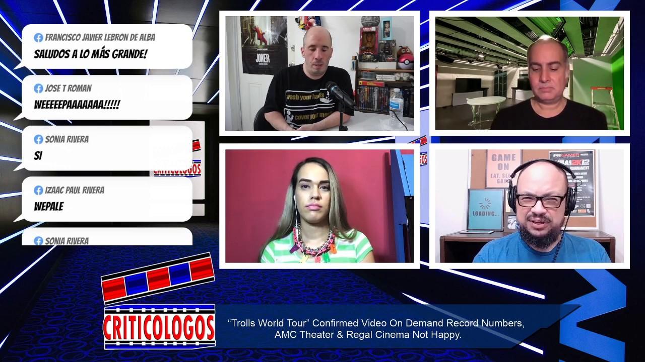 Criticologos Live 4 30 2020 Trollsworldtour Oscars2021 Assassinscreed Wwe2kbattlegrounds Youtube