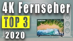 TOP 3: Bester 4K Fernseher 2020! Besten QLED und OLED TV Kaufen! [DEUTSCH]