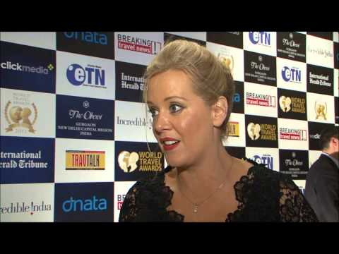 Ornagh Hoban, vice president, marketing strategy, Datalex, at World Travel Awards Grand Final 2012