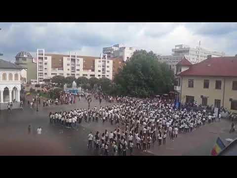 Flash mob 2018 Tg-Jiu- intrerupt de ambulanta