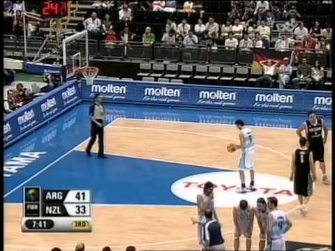 2006 FIBA World Champs Tall Blacks vs Argentina - Round of 16 - 26th August