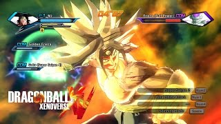 Dragon Ball Xenoverse SSJ5 Transformation for Character [UPDATED]