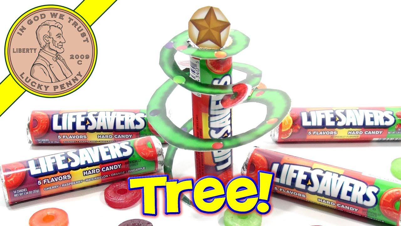 life savers hard candy sweet storybook i make a christmas tree