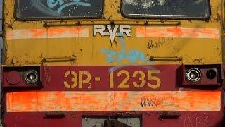 ЭР2-1235 путеец и ЭР2-3047 за несколько дней до порезки(, 2014-11-17T16:54:07.000Z)