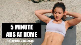5 minute abs   bikini body series ep 8
