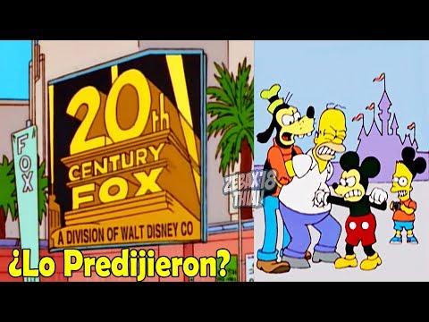 Los Simpson Predijieron La Compra de Fox por parte de Disney!