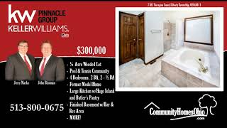 4 Bed Home for Sale on 1/2 Acre  7181 Tarragon Court, Liberty Township OH 45011