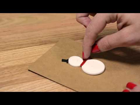 How To Make: DIY Christmas Cards