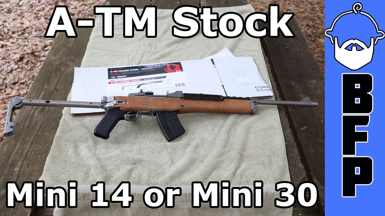 Ruger Mini 14 A-TM Stock (AC556 Stock)