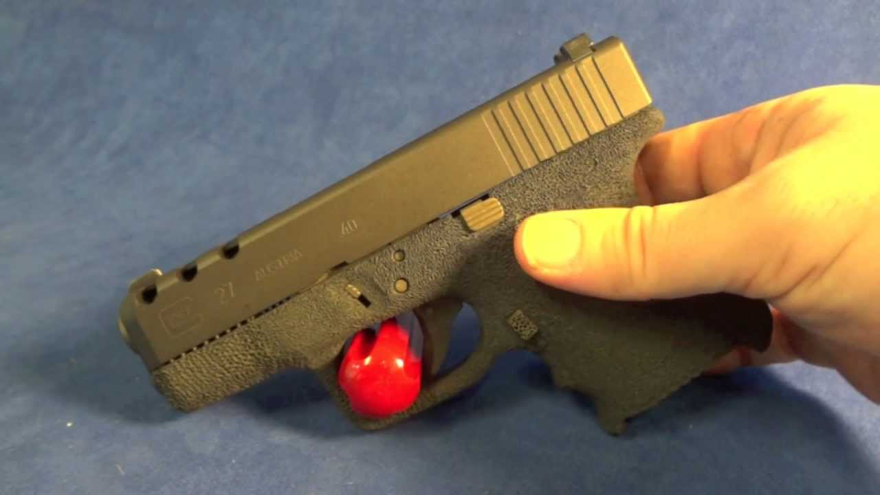 Glock 27 40 Cal With Burnt And Midnight Bronze Cerakote Youtube