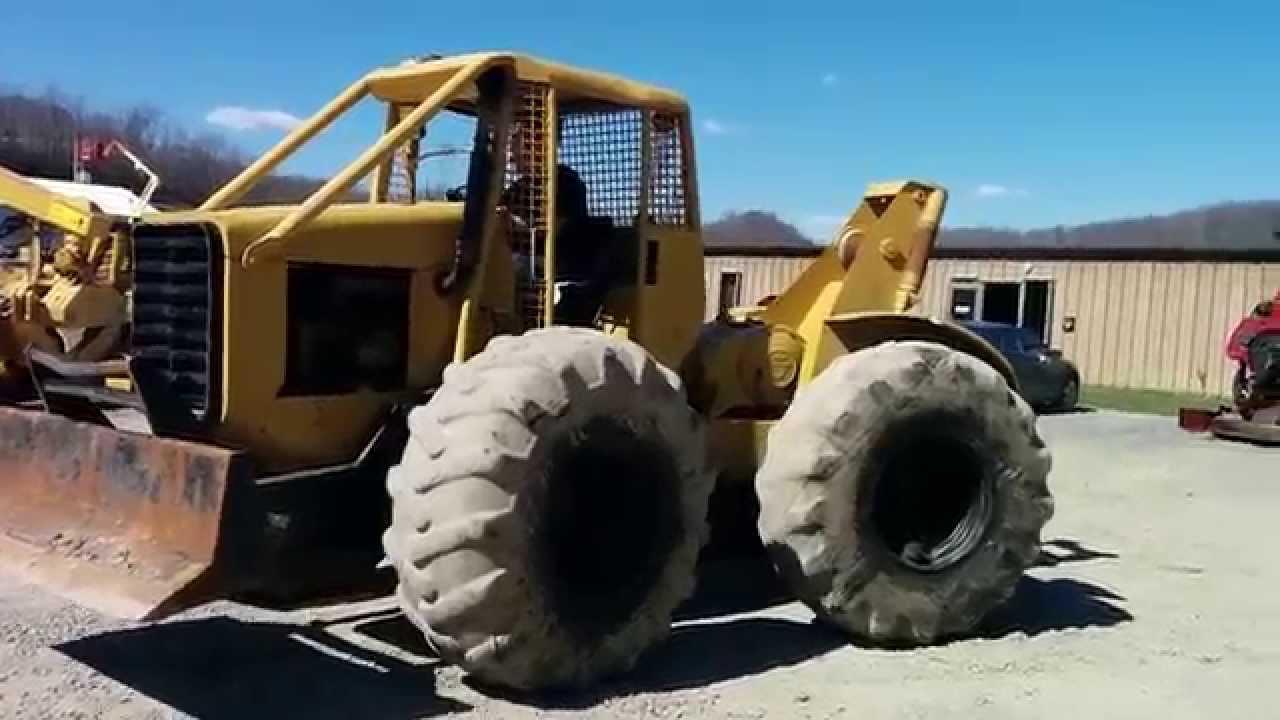 Massey Ferguson 320 Log Skidder Youtube