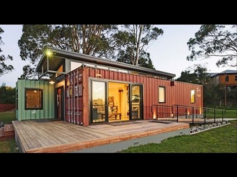 Minimalist container house design youtube for Minimalist box house design