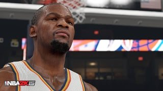 NBA 2K15 PC Version Will Be Next-Gen - PC Screenshot of Kevin Durant + The Amazing Possibilities