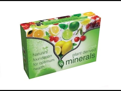 About Simply Naturals Sizzling Minerals · 100% Natural Product