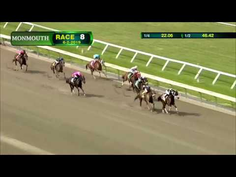 video thumbnail for MONMOUTH PARK 6-2-19 RACE 8