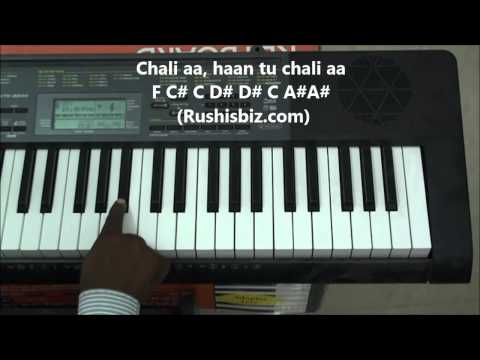 Mere Sapno Ki Rani - Piano Tutorials .... Full Song !!!