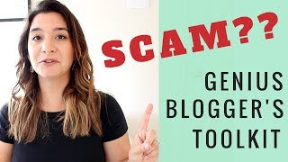 IS IT A SCAM?! ● IS THE GENIUS BLOGGER'S TOOLKIT BUNDLE REALLY WORTH THE HYPE? ● BLOGGING BUNDLE