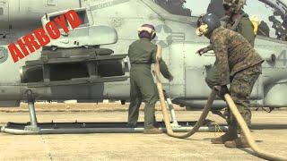 Super Cobra Hot Refueling And Arming