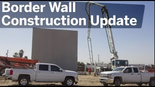 Construction On Border Wall Update | San Diego Union-Tribune