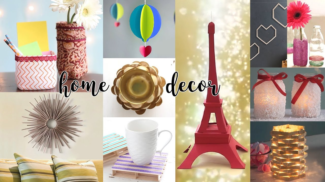 14 Easy Diy Home Decor Ideas Useful Things Craft Ideas Youtube