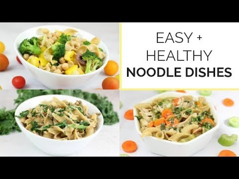 3 Easy Healthy Noodle Recipes with No Yolks Noodles | Family Friendly Meal Ideas