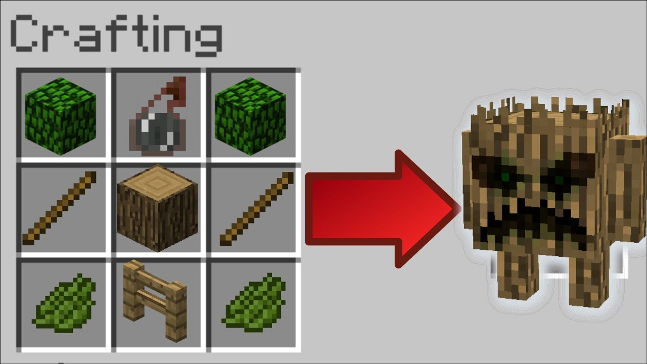 Minecraft ITEMS TURN INTO MOBS MOD / TRANSFORM ITEMS INTO MONSTERS!! Minecraft