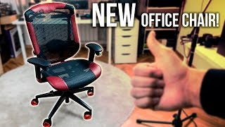 MY NEW OFFICE CHAIR! ... & more