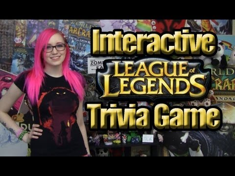 Test Your LoLedge (Interactive League of Legends Trivia Game)