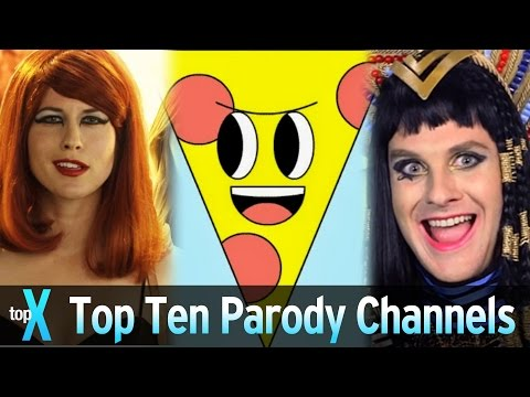 Top 10 YouTube Parody Channels - TopX