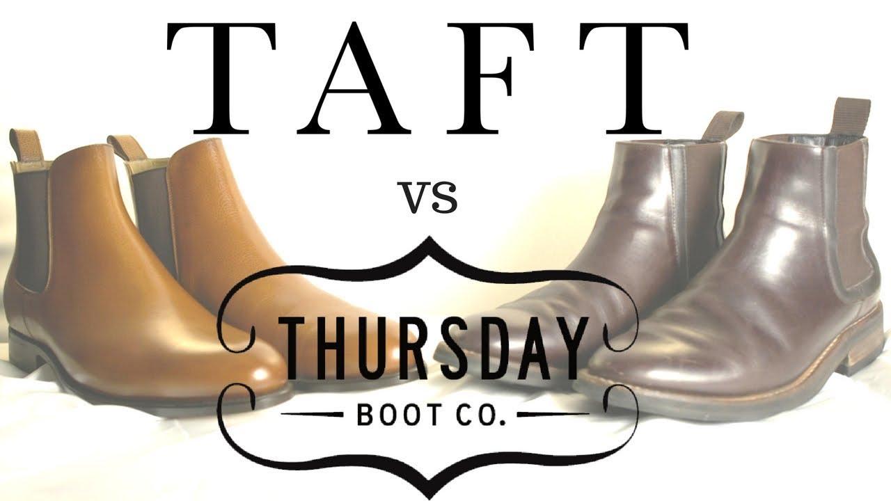 d9e3c37cfce Taft vs. Thursday Boots