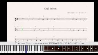 Indian Classical Raga Yaman Free Lesson