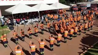 Bombeiros fazem homenagem para sargento que morreu em acidente