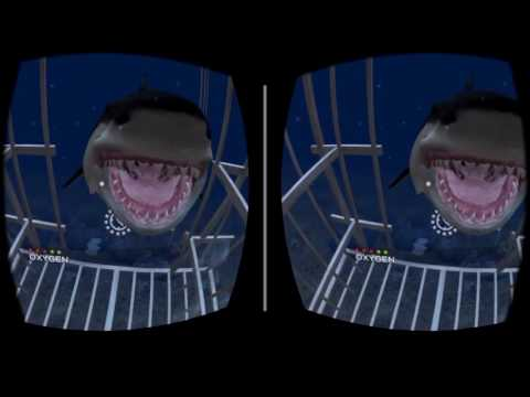Underwater view master Cardboard Virtual Reality 3D Gameplay 1080p