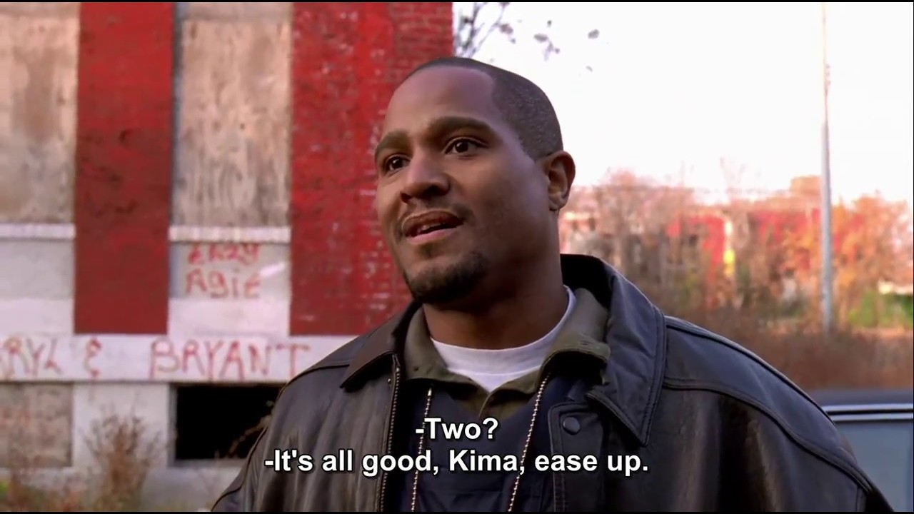 Download The Wire Season 1 Episode 1 arrestation scene in HD || Two Guns, right just two !!!!