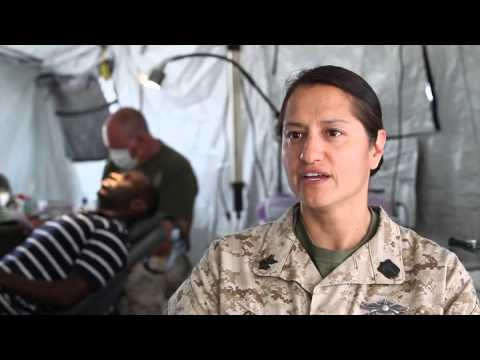 4th Dental Battalion Provides Care to Marines During Exercise African Lion 13