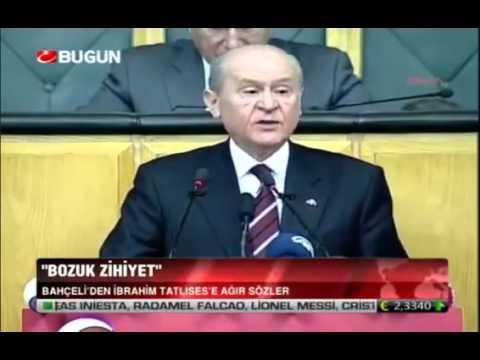 """Devlet Bahçeli'den Urfalı Türkücü İbrahim Tatlıses'e Ağır Laf  """"Bozuk zihniyetli!"""